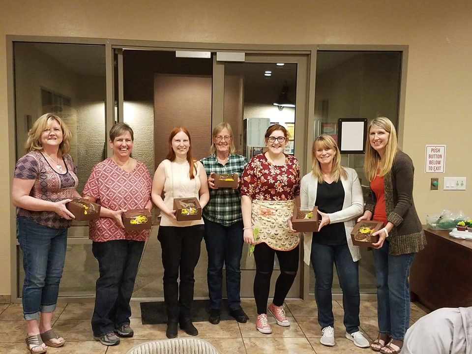 fall decorating class